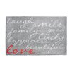 Pedrini LifeStyle-Mat Laugh with Love Doormat