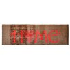 Pedrini LifeStyle-Mat Kitchen Home Heart Brown/Red Runner