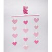Little Love by Nojo Little Love Separates Heart Ceiling Mobile