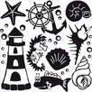 Klebefieber Maritimes Wall Sticker Set