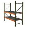 Husky Rack & Wire Pallet Two Shelf Shelving Unit Starter