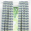 Brite Ideas Living See Saw Cotton Rod Pocket Single Curtain Panel