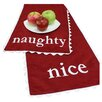 "Brite Ideas Living Passion Suede ""Naughty-Nice"" Table Runner"