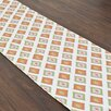 Brite Ideas Living Carnival Gumdrop Topstitched Table Runner