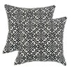 Brite Ideas Living Lace It Up Throw Pillow (Set of 2)