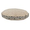 Brite Ideas Living Sussex Round Pet Bed with Nichole Band and Top Cording