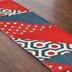 Brite Ideas Living Patchwork and Burlap Table Runner