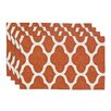 Brite Ideas Living Strathmore Lined Placemat (Set of 4)
