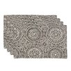 Brite Ideas Living Mandy Lined Placemat (Set of 4)