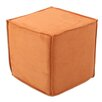 Brite Ideas Living Slam Dunk Seamed Cube Ottoman
