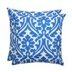 Brite Ideas Living Holly Outdoor S-Backed Throw Pillow (Set of 2)