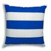 Brite Ideas Living Vertical Cobalt Outdoor Throw Pillow