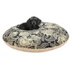 Brite Ideas Living Valdosta Round Pet Bed with Covered Zipper