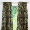 Brite Ideas Living Valdosta Blackbird Back Tab Curtain Panel