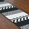 Brite Ideas Living Zig Zag Table Runner