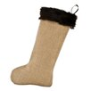 Brite Ideas Living Burlap Stocking
