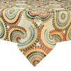 Brite Ideas Living Incogneato Fiesta Hemmed Tablecloth