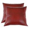 Brite Ideas Living Tinga Rojo Throw Pillow (Set of 2)