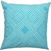 Brite Ideas Living Phase Ocean Outdoor Self Backed Throw Pillow (Set of 2)