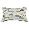 Brite Ideas Living Retro Rides Cotton Lumbar Pillow