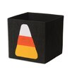 Brite Ideas Living Candy Corn Denim Storage Bin