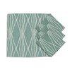 Brite Ideas Living Handcut Shapes Rain Napkin (Set of 4)