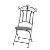 Attraction Design Home Folding Dining Side Chair