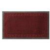 Attraction Design Home Stripe Engraved Doormat