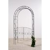 TakashoEurope Nexus Rose Arch with Gate