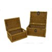 Rustic Garden Supplies 2 Piece Storage Basket Set
