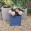 Rustic Garden Supplies Hardwood Square Planter