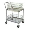 Wesco Industrial Products Compact Office File Cart