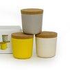 BIOBU [ by EKOBO ] Gusto 8-Oz Storage Jar Set V1 (Set of 3)