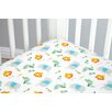 Zutano Blue Juba 5 Piece Crib Bedding Set