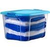 Bella Storage Solution Locking Lid Storage Box (Set of 4)