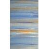 Angela Rose Gallery Leinwandbild Blauer und goldener Himmel, Kunstdruck