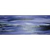 Angela Rose Gallery Purple Horizon Art Print Wrapped on Canvas