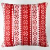 Artisan Pillows Christmas Stars Stripes Throw Pillow Cover
