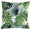Artisan Pillows Tropical Botanic Palm Leaf Indoor Pillow Cover