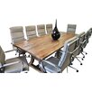 Solis Patio Ligna 8' Rectangular 11 Piece Conference Table Set