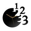 ModernClock Analoge Wanduhr 1-2-3