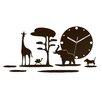 ModernClock Analoge Wanduhr Safari XXL