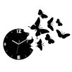 ModernClock Analoge Wanduhr Butterfly