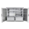 Barbeques Galore Stainless Steel Dry Storage Cabinet