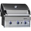 Barbeques Galore Turbo Elite 3-Burner Built-In Gas Grill
