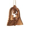 Carver's Art 3-D Bethlehem Bell Nativity Ornament