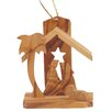 Carver's Art 3-D Small Star Nativity Ornament