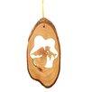 Carver's Art Angel Tree Bark Ornament