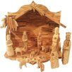 Carver's Art Olive Wood Nativty Set with Three Kings Gifts