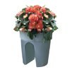 KHW Flowerclip 3-Piece Rail Flower Pot Set